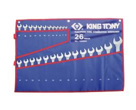 Набір ключів комбі 26шт. (6-32 мм) TREOTON