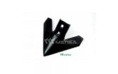 """Лапа стрільчата 228 мм (9""""), h=6 мм, між отворами  43-47 мм WIL-RICH 222682  (CASE 372561A1,JOHN DEERE N130167/N182040/N188993 )"""