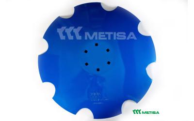 Диск ромашка D=620 мм, 6 отворів, Lemken, 3490466