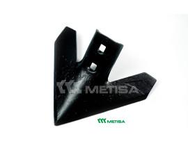 """Лапа культиватора посилена 11"""" (FC1881/372562A1/N182042/820-405C/575-804V), GP, виробництва METISA (Бразилия)."""